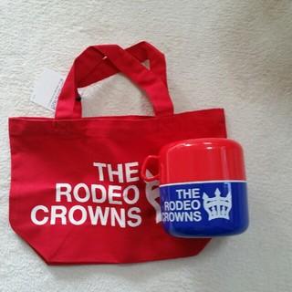 ロデオクラウンズワイドボウル(RODEO CROWNS WIDE BOWL)のロデオクラウンズ ランチボックス ノベルティー(弁当用品)