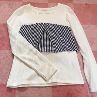 ジーユー(GU)のGUビスチェTシャツ(Tシャツ(長袖/七分))