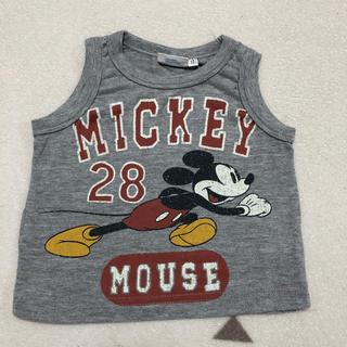 ディズニー(Disney)のミッキーマウス タンクトップ(タンクトップ/キャミソール)