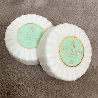 ブルガリ(BVLGARI)のブルガリ 石鹸  箱なし 二個セット(ボディソープ / 石鹸)