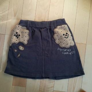 ラフ(rough)のrough スカート ビスケットがたくさん!(ミニスカート)