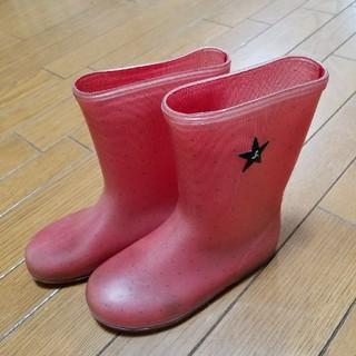 アニエスベー(agnes b.)の【USED】アニエスベー アンファン 長靴 19センチ(長靴/レインシューズ)