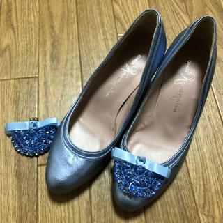 ギンザカネマツ(GINZA Kanematsu)のマヒマヒさん専用 メタリック21.5(ハイヒール/パンプス)