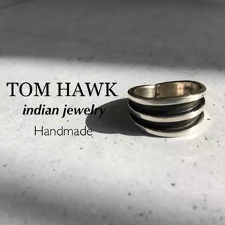 ꫛꫀꪝ✧・:* ◆TOM HAWK◆トムホーク ◆リング 11号◆シルバー925(リング(指輪))