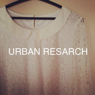 アーバンリサーチ(URBAN RESEARCH)のアーバンリサーチ丸襟レースブラウス(シャツ/ブラウス(長袖/七分))