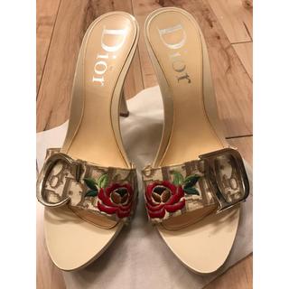 クリスチャンディオール(Christian Dior)の美品 ディオール ミュール(ミュール)