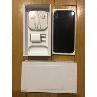 アップル(Apple)のiPhone 6 スペースシルバー 128G au 中古(スマートフォン本体)