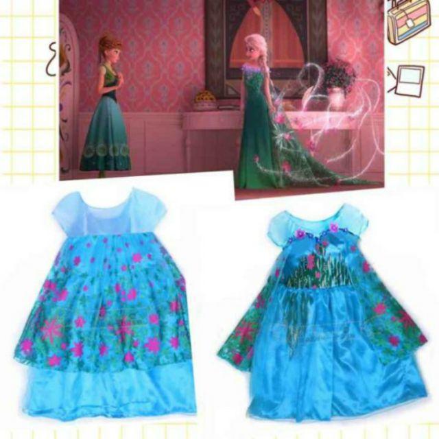 d23269112b8c5 120 送料無料 新品 アナと雪の女王 エルサ コスプレ ドレス ハロウィン キッズ ベビー