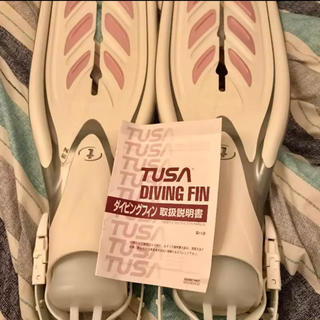 ツサ(TUSA)のダイビングフィン☆未使用!(マリン/スイミング)