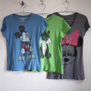 ディズニー(Disney)のアメル様専用 ミッキー・ミニーTシャツ(Tシャツ(半袖/袖なし))