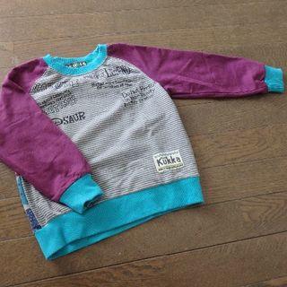 クッカ(kukkA)のトレーナー 110サイズ(Tシャツ/カットソー)