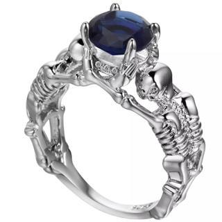 ザラ(ZARA)のストーンリング💍 キラキラ指輪(リング(指輪))