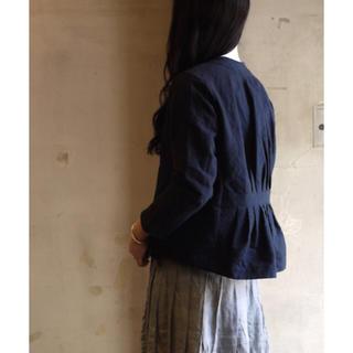 ヤエカ(YAECA)の未使用♡ASEEDONCLOUD アシードンクラウド jacket ジャケット(ノーカラージャケット)