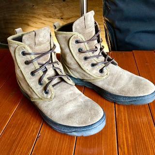 モンクレール(MONCLER)の本物 MONCLER 28.5 モンクレール スエードブーツ (定価12万)(ブーツ)