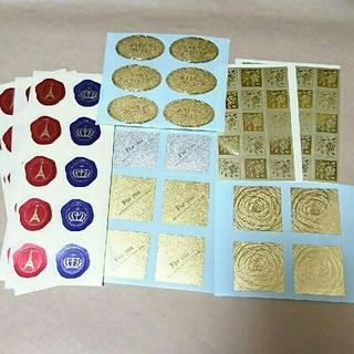 サンキューシール ギフトシール アソート 103枚 管理番号①(カード/レター/ラッピング)