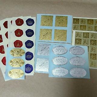 サンキューシール ギフトシール アソート 102枚 管理番号③ (カード/レター/ラッピング)