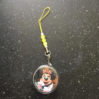 ディズニー(Disney)のTDR購入 ミニーマウス 実写ストラップ(キャラクターグッズ)