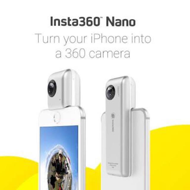 insta360nano スマホ/家電/カメラのカメラ(その他)の商品写真