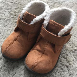 ムジルシリョウヒン(MUJI (無印良品))の無印良品☆キッズブーツ17.0cmこども靴MUJI男女OK zaraH&MGAP(ブーツ)