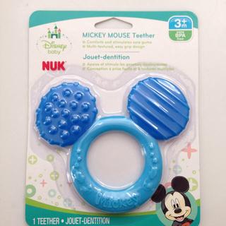 ディズニー(Disney)の【NUK】ミッキーマウス 歯固め(おもちゃ/雑貨)