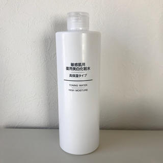 ムジルシリョウヒン(MUJI (無印良品))の敏感肌用薬用美白化粧水 高保湿タイプ 400ml(化粧水 / ローション)