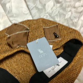 オーバーライド(override)のsakura様専用♡オーバーライドアースリボンベレー帽タグ付き(ハンチング/ベレー帽)