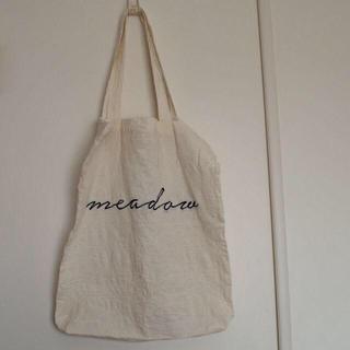 ムジルシリョウヒン(MUJI (無印良品))の刺繍エコバッグ(エコバッグ)