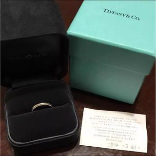 ティファニー(Tiffany & Co.)の専用。ティファニー7号ミルグレインリング指輪プラチナ(リング(指輪))