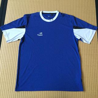 トッパー(Topper)のサッカー ゲームシャツ ブルー M-L(ウェア)