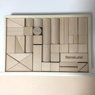 ボーネルンド(BorneLund)のミキプー様専用ボーネルンド オリジナル 積み木 M 白木 美品(積み木/ブロック)