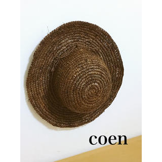コーエン(coen)のcoen 麦わら帽子(麦わら帽子/ストローハット)