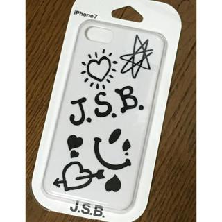 サンダイメジェイソウルブラザーズ(三代目 J Soul Brothers)のJ.S.B. iPhoneケース WHITE(iPhoneケース)