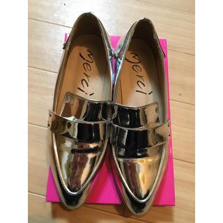 シルバーローファー(ローファー/革靴)