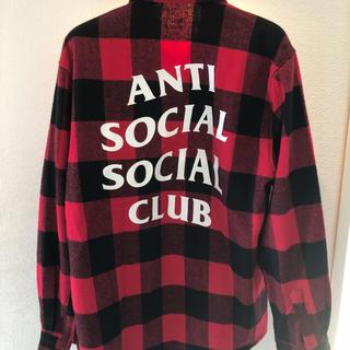 アンチ(ANTI)のアンチソーシャルクラブ ネルシャツ(シャツ)