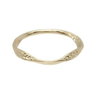 アガット(agete)のアガット K18 ピンキーリング(リング(指輪))