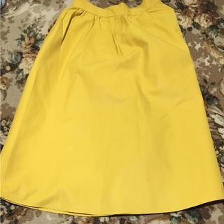 ジーユー(GU)のイージーカラースカート#Sサイズ(ひざ丈スカート)