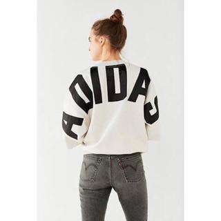 アディダス(adidas)の★大人気★ 国内未入荷 アディダス adidas ビッグロゴ 7部丈 M(Tシャツ(長袖/七分))