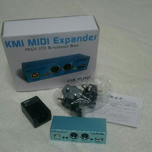 Keith mcmillen MIDI Expander 中古品 楽器のDTM/DAW(MIDIコントローラー)の商品写真