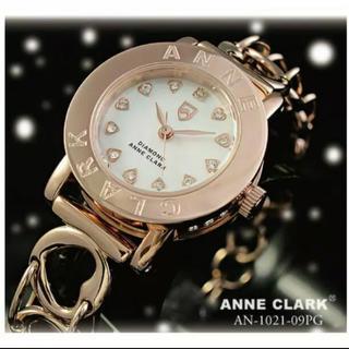 アンクラーク(ANNE CLARK)のAnne Clark 腕時計 アナログ ピンクゴールド(腕時計)