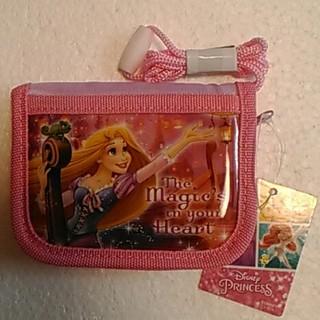 ディズニー(Disney)のラプンツェル ラウンドウォレット 折りたたみ財布 財布 キッズ用(財布)