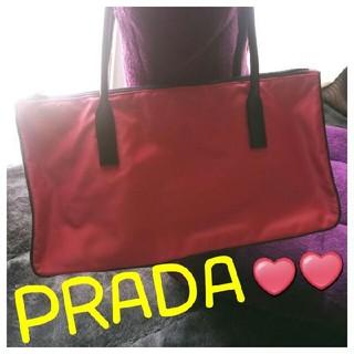 プラダ(PRADA)の✨引っ越し処分大特価っ❣️美品✨【正規】PRADA❤ボストン型ショルダーバッグ(ショルダーバッグ)