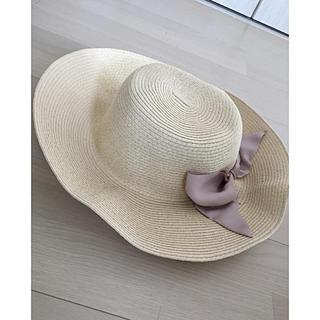 アフタヌーンティー(AfternoonTea)のAFTERNOON TEA 紫外線カット帽子(ハット)