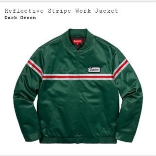 シュプリーム(Supreme)のSupreme Reflective stripe work jacket S(ブルゾン)