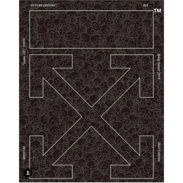 OFF-WHITE - 超希少 村上隆 off-white 版画 Memento Mori blackの通販 by KUSO LIFE オフホワイトならラクマ