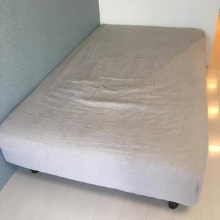 ムジルシリョウヒン(MUJI (無印良品))の無印良品 ボックスシーツ セミダブル(シーツ/カバー)