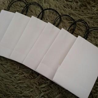 ミニ紙袋6枚セット(カード/レター/ラッピング)