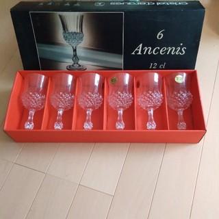 クリスタルダルク(Cristal D'Arques)のワイングラス 6客セット(グラス/カップ)