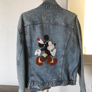ディズニー(Disney)のレア!mickey Gジャン🎶(Gジャン/デニムジャケット)