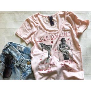 スライ(SLY)の【セール送料無料】SLYプリントTシャツ(Tシャツ(半袖/袖なし))
