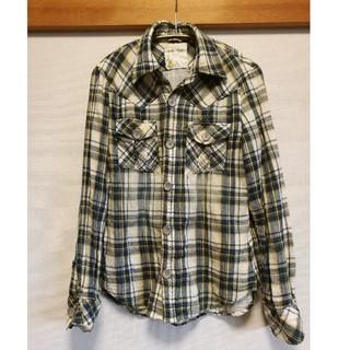 キャブゼロゼロゼロ(CAV-000)の新品同様★CAV-000★チェックシャツ(シャツ)